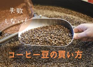コーヒー豆の買い方
